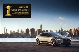 I-PACE: World Car Awards