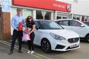 MG3 hits sales landmark