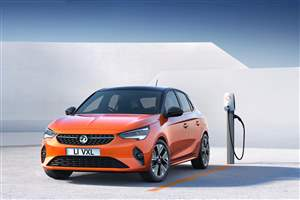 Vauxhall Corsa goes electric