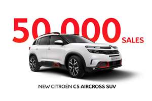 C5 Aircross SUV success