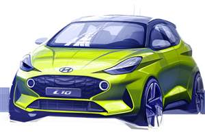 First sight of new Hyundai i10