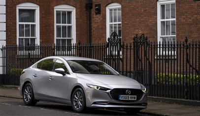 Mazda3 saloon launched