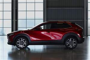 CX-30 excels in crash tests