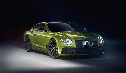 Bentley celebrates record