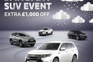 Mitsubishi SUV discounts