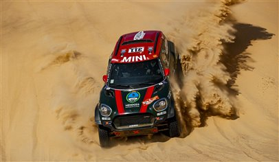 MINI in Rally Dakar triumph