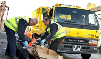 Drivers back litter action
