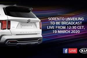 Sorento Facebook reveal