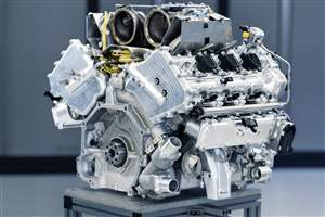 Aston Martin's new V6 engine