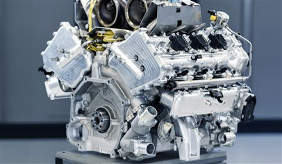 Aston Martin's new V6 engine