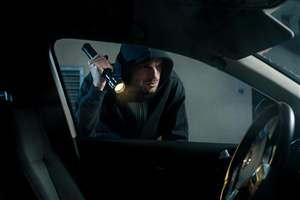 Vehicle thefts up 21%