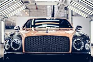 Bentley end Mulsanne