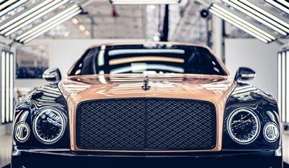 Bentley end Mulsanne