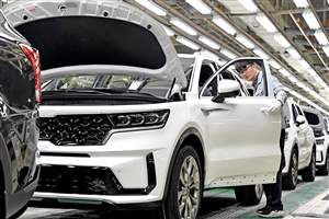Sorento Hybrid in production