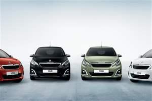 Peugeot 108 updates