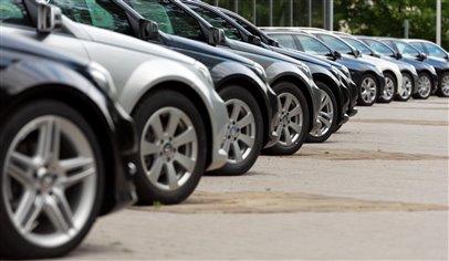 UK used car sales slump