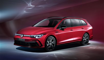 New VW Golf Estate debuts