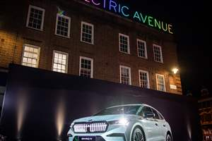 Skoda Enyaq iV makes UK bow