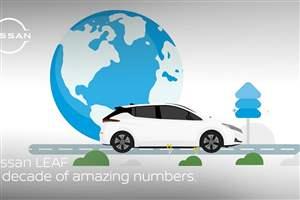 Nissan LEAF birthday
