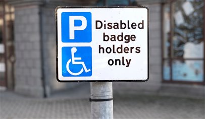 Disabled parking abuse in UK