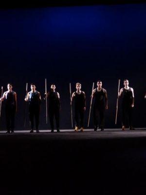 Julius Caesar - Stripped Back Shakespeare - LIPA - My Lighting Design · By: Sam Sebbage