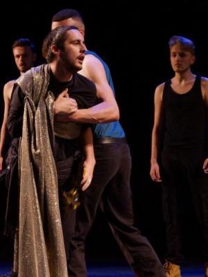 Julius Dies - Julius Caesar - Stripped Back Shakespeare - LIPA - My Lighting Design · By: Sam Sebbage