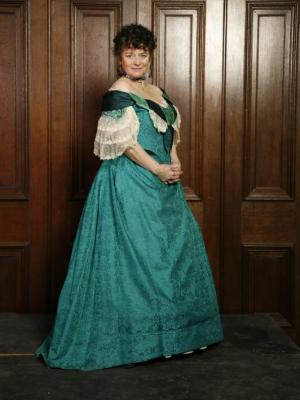 2013 Tricia Ford in Victorian costume · By: Channel 4 Productions