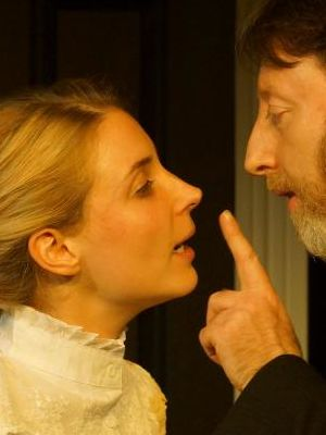 A Doll's House November 2015 (Alexa Mathews as Nora and Paul Vates as Helmer · By: Robert Bloomfield
