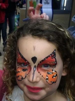 Facepainting · By: Co op staff