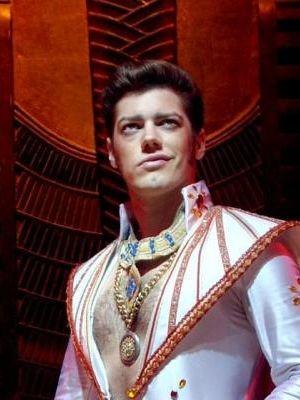 Pharaoh in Joseph and the Amazing Technicolour Dreamcoat