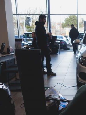 2015 On set of Mercedes TV Commercial · By: Tom Kelly