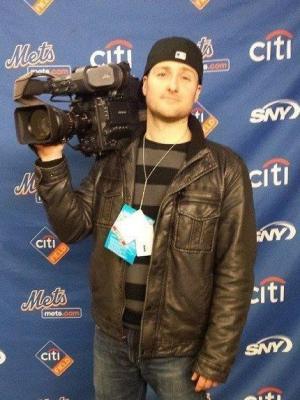 2014 John Vigoa At New York Mets Opening Day 2014 · By: John Vigoa