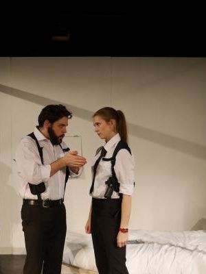 The Dumb Waiter - Production Still (Directed by Stanley Walton)