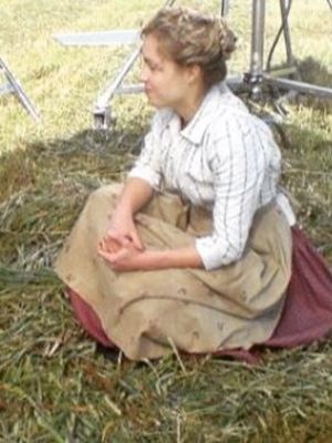 On set for Larkrise to Candleford