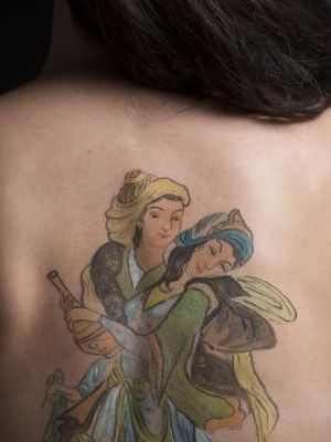 2014 Tattoo · By: Danielle Blancher