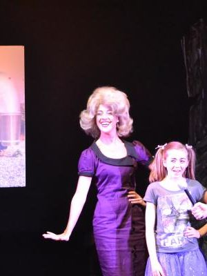 2014 Ms. Beauregarde in 'Willy Wonka - The Musical' (DUCTAC Theatre, Dubai) · By: Paul Reynolds