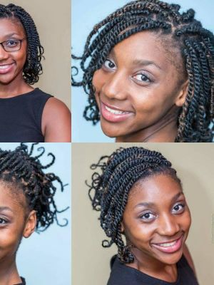 2016 Kinky Twist Hair Variation · By: Knox B Photography