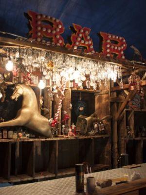 Bar for Glastonbury festival venue · By: M miller