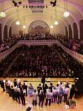 Conducting the crowd and choirs @ Cadogan Hall, London · By: M Jarvis