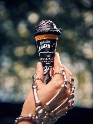 2016 Hand model for Kraken Rum Ice Cream · By: Mikael Buck