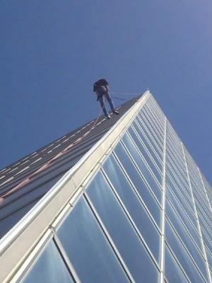 Fall Protection inspection. City Hall. Edmonton · By: Big John