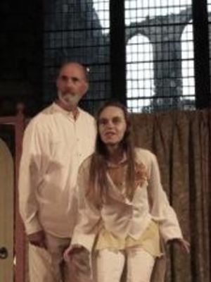 2015 Playing Ariel in The Tempest · By: Irene Davies