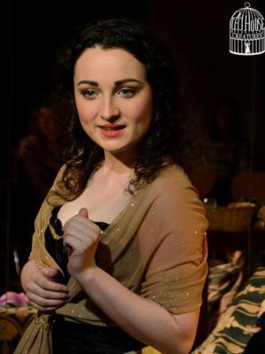 """2014 """"Nell"""" in Playhouse Creatures · By: Alba Cove Photography"""