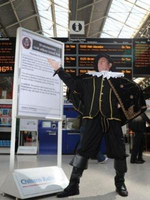 2011 Shakespearean Actor at Station · By: Associated Press