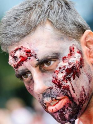 2016 Zombie/beaten · By: Abby Photography