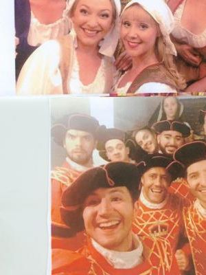 pirares of penzance , yeomen of the guard national gilbert and sullivan company head of wardrobe and wigs tour 2016 · By: denis blatchford