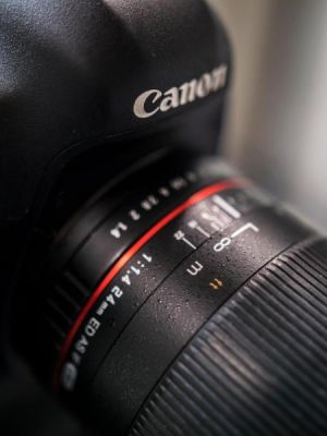 Canon 5dmarkiii with Samyang prime
