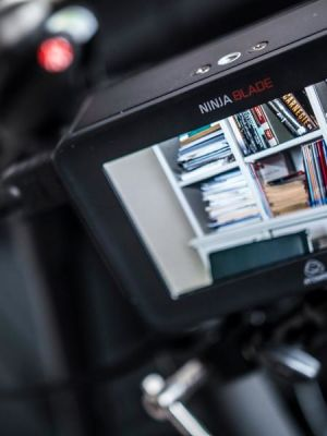 Atomos Ninja Blade, recording broadcast spec from Canon C100
