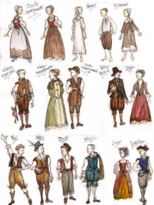 Shakespeare's Sister Costume Ideas · By: Andy Robinson