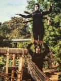 2016 Tarantula - Acrobat - 'The Enchantment of Chester Zoo' , Wild Rumpus · By: Liz Pickering